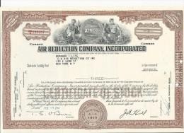 Air Reduction Company, Incorporated Aktie-Wertpapier 03/02/1964 USA - Azioni & Titoli