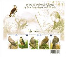 Vogels. 25 Jaar Hoogvliegers In De Filatelie.  Les Oiseaux D´André Buzin. - 1985-.. Oiseaux (Buzin)
