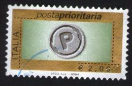 Italie 2004 Oblitéré Rond Used Stamp Courrier Prioritaire Posta Prioritaria 2 Euro - 1946-.. République