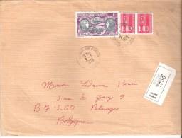 """Lettre Recommandé-Revigny-sur- Ornain-Meuse-1978-Timbre """"Poste Aérienne-Hélène Boucher-Maryse Hilsz""""--1972-YT PA 47 - 1961-...."""