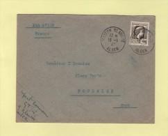 Maison Blanche - Alger - 16-1-1947 - Marianne D Alger - Usados