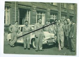 """Carte Abîmée  - Simca Aronde - """"Cachet Au Dos Troyes Automobiles - - Turismo"""