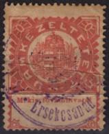Revenue Stamp - Customs Douane / LABEL Vignette - 1920's HUNGARY - Érsekcsanád - Fiscaux