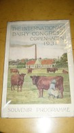 The International Dairy Congress Copenhagen 1931 - Livres, BD, Revues