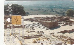 GREECE - Ancient City Of Phaistos/Crete, The Phaistos Disk(17th Century B.C.), Tirage 43697, 02/97, Used - Greece