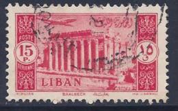 Lebanon, Scott # C185 Used Baalbek, 1954 - Lebanon