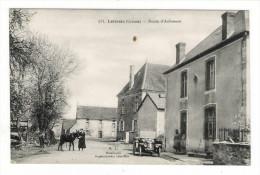 CREUSE  /  LEITREX  /  ROUTE  D' AUBUSSON  ( Automobile 1900 + âne ) /  Edit.  B. LAVILLE  N° 571 - Other Municipalities