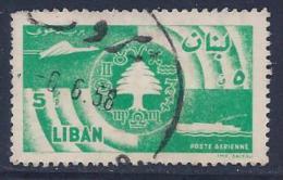 Lebanon, Scott # C245 Used Cedar,etc, 1957 - Liban
