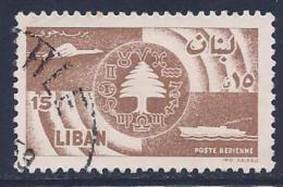 Lebanon, Scott # C247 Used Cedar,etc, 1957 - Lebanon