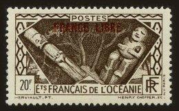 French Oceania Scott #135, 1941, Never Hinged - Oceania (1892-1958)