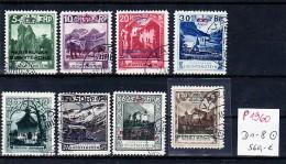 Liechtenstein Nr. D 1-8   -orginal -top  (p1960 ) Siehe Scan  ! - Dienstpost