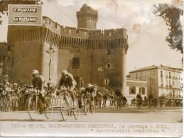66 - Perpignan -  Photo Du Tour De France  Le Passage Devant Le Castille - Perpignan