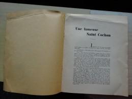 UNE FAMEUSE SAINT COCHON  CHABLIS BOURGOGNE TEXTE PIERRE GAUTHIER 5 MAI 1957 - Historische Dokumente