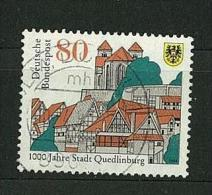 GERMANIA - GERMANY ANNO 1994 The 1000th Anniversary Of Quedlinburg  - CANCELLED STAMPS - - Used Stamps