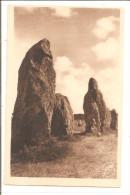 ALIGNEMENT MEGALITHIQUES DE KERMARIO - Dolmen & Menhirs