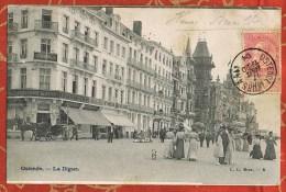 BELGIQUE - OSTENDE - La Digue - Animée - CIGARES - José Tinchant - Belgique