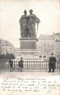 SUISSE GENEVE MONUMENT NATIONAL CARTE PRECURSEUR CIRCULEE - GE Ginevra