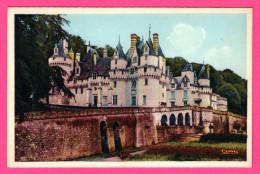 Ussé - Château XVe Et XVIe Siècles - CIM - Colorisée - Altri Comuni