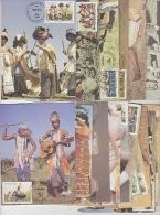 Transkei 1984 Definitives 17v 17 Maximum Cards (19084) - Transkei