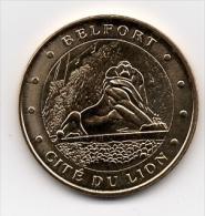 Belfort - 90 : Cité Du Lion (Monnaie De Paris, 2011) - Monnaie De Paris