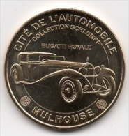 Mulhouse - 68 : Cité De L'Automobile, Bugatti Royale (Monnaie De Paris, 2011) - Monnaie De Paris