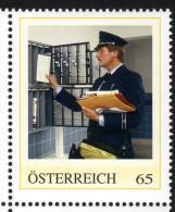 ÖSTERREICH 2010 ** Zusteller Postuniform Um 1975 - PM Personalized MNH - Private Stamps