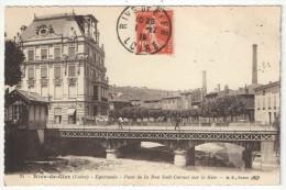 42 - RIVE-DE-GIER - Egarande - Pont De La Rue Sadi-Carnot Sur Le Gier - BF 25 - Rive De Gier