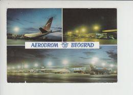 Airport BELGRADE (1335) Aéroport Aeroporto Aeropuerto Unused Pc (ae151) - Aerodromi