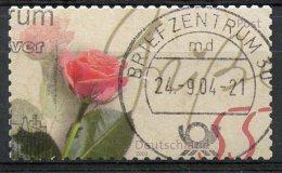 Germany 2003 55c Rose Issue #2228  SON Cancel - [7] Federal Republic