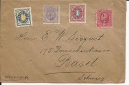 SUEDE - 1910 - ENVELOPPE Pour BASEL (SUISSE)