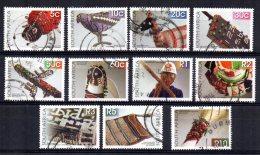 South Africa - 2010 - Beadwork (Part Set) - Used - Afrique Du Sud (1961-...)