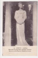Corfou Monument De L'Impératrice Elisabeth D'Autriche - Cartes Postales