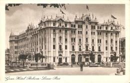 POSTAL DE PERU DE GRAN HOTEL BOLIVAR EN LIMA - Perú