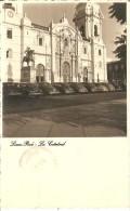 POSTAL DE LA CATEDRAL DE LIMA EN PERU DEL AÑO 1950 (UDO SCHACK) - Perú