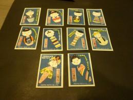69-    Hinged Japan   Japon- Tobacco Match   Harima Match Co. Ltd   1- 10 - Matchbox Labels