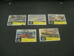 110- Hinged Netherlands -Nederland- Pays-bas  -   Co-op- Shepen - Ships - Matchbox Labels