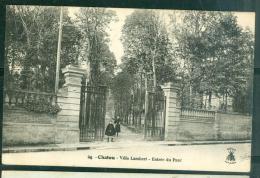 N°24 -  CHATOU  - Villa Lambert - Entrée Du Parc  Fae81 - Chatou