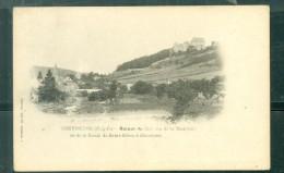 Chevreuse - RUINES Du Chateau De La Madeleine, Vu De La Route De Saint Rémy à Chevreuse   Fae88 - Chevreuse