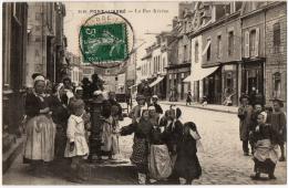Pont Abbé Finistère Lot 8 Cpa Diverses Animation Avant 1920 état Superbe Et TB - Pont L'Abbe