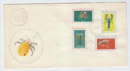 Netherlands New Guinea CRABS FDC 1962 - Meereswelt
