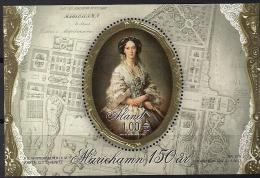 2011  Aland Mi  Bl 11 I  **MNH   150 Jahre Stadt Mariehamn - Ålandinseln