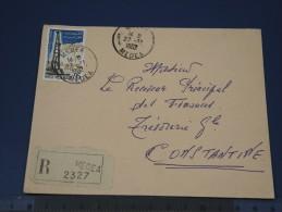 ALGERIE - Ensemble De 3 Lettres Recommandées  (1962 / 63) 2 De Sétif, Et 1 De Médea - N° Yvert 367 - (Lot N°1385) - Algeria (1924-1962)