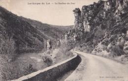 LES GORGES DU LOT......................le Rocher Du Duc - France