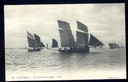 Cpa  Du 35 Cancale  La Caravane En Pêche    JA15 1 - Cancale