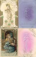 PRIMERA PARTE DE LA COLECCION DE POSTALES DE LA ARISTOCRATA COLECCIONISTA CARMEN ABENTE DE ROSARIO PROVINCIA DE SANTA FE - Postkaarten