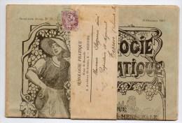 1911 - BANDE + JOURNAL D´ OENOLOGIE PRATIQUE - VIN / ALCOOL / BOISSON - TYPE BLANC - Periódicos