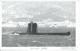 "CP PHOTO:  "" MORSE "" -  SOUS-MARIN  (  -   BATEAU DE GUERRE   ) - Warships"