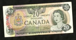 CANADA - BANK Of CANADA / BANQUE Du CANADA - 20 DOLLARS (OTTAWA 1979) Queen Elizabeth - Canada