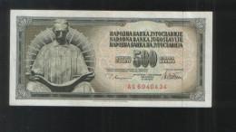 YUGOSLAVIA 500 Dinara 1978 - Yugoslavia