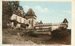 CPA 24 SAINT GERMAIN DES PRES CHATEAU DE SAINT PIERRE - Autres Communes
